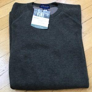 🆕 Club Room Ribbed Crewneck Sweater   L